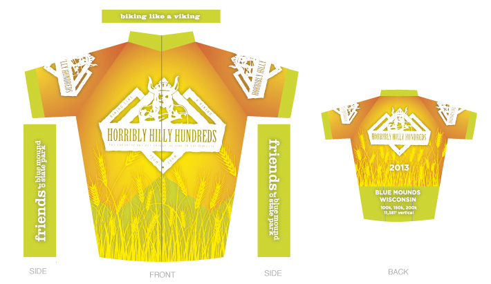 Horribly Hilly Hundreds Jersey